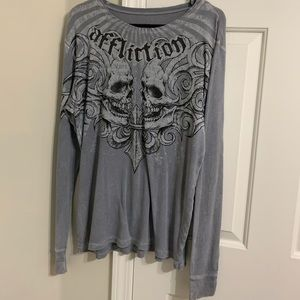 Affliction Clothing Long Sleeve Shirt